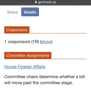 Stage bill